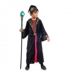 Disfraz de brujo poderoso para niño - Imagen 1