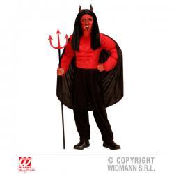 Disfraz de demonio temeroso para niño - Imagen 1