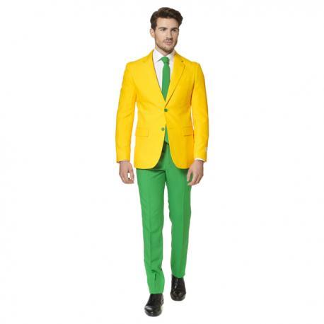 Traje Green and Gold Opposuit - Imagen 1