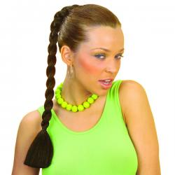 Extensión peinado trenza morena - Imagen 1