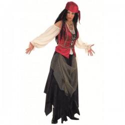 Disfraz de pirata corsaria valorius - Imagen 1