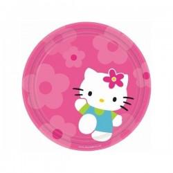 Set de platos grandes Hello Kitty - Imagen 1