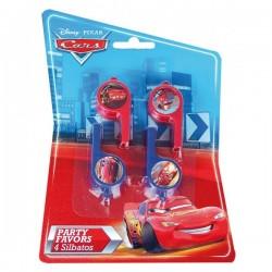 Set de silbatos Cars - Imagen 1
