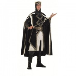 Disfraz de rey de las cruzadas medieval - Imagen 1