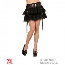 Falda de rockera punk para mujer - Imagen 1