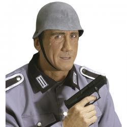 Casco de soldado gris para hombre - Imagen 1