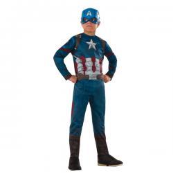 Disfraz de Capitán América Civil War deluxe para niño - Imagen 1