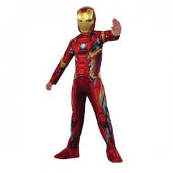 Disfraz de Iron Man Capitán América Civil War para niño - Imagen 1