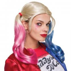 Peluca de Harley Quinn Suicide Squad para mujer - Imagen 1