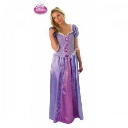 Disfraz de Rapunzel para adulto - Imagen 1