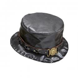 Sombrero de copa steampunk para hombre - Imagen 1