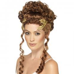 Corona dorada de laurel - Imagen 1