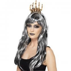 Corona de reina esqueleto para mujer - Imagen 1