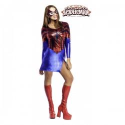 Disfraz de SpiderGirl classic - Imagen 1