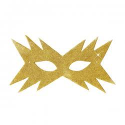Antifaz estrella dorada para mujer - Imagen 1