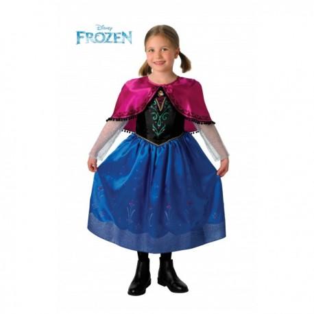 Disfraz de Anna Deluxe Frozen para niña - Imagen 1