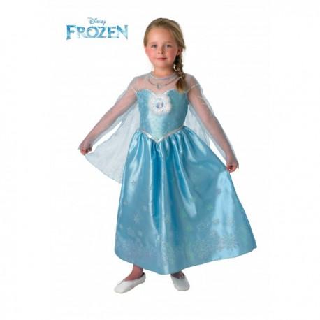 Disfraz de Elsa Deluxe Frozen para niña - Imagen 1