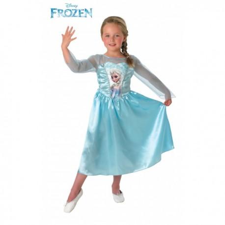 Disfraz de Elsa Frozen para niña - Imagen 1