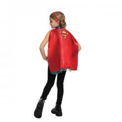 Kit de capa y diadema de Supergirl para niña - Imagen 1
