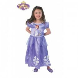 Disfraz de la Princesa Sofía para niña - Imagen 1