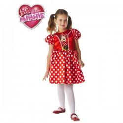 Disfraz de Minnie Mouse Classic Roja para niña - Imagen 1