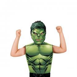 Kit disfraz de Hulk económico para niño - Imagen 1