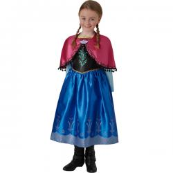 Disfraz de Anna Frozen deluxe para niña - Imagen 1