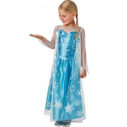 Disfraz de Elsa Frozen reina de hielo para niña - Imagen 1