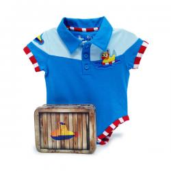 Body patito marinero para bebé - Imagen 1