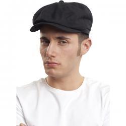 Gorra negra con visera - Imagen 1