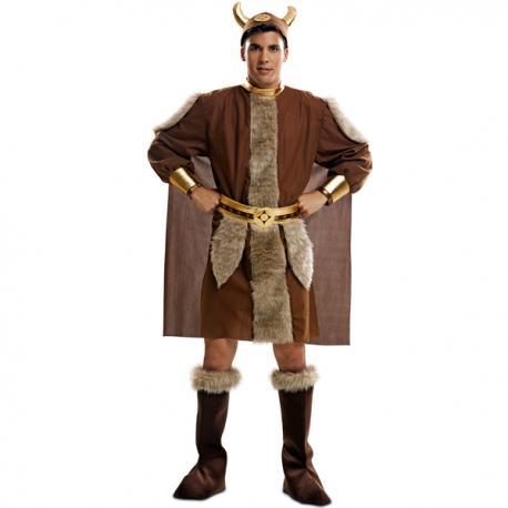 Disfraz de guerrero nórdico para hombre - Imagen 1