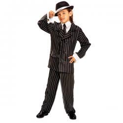 Disfraz de gánster de los años 20 para niño - Imagen 1
