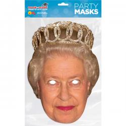 Careta de Reina Elisabeth para adulto - Imagen 1