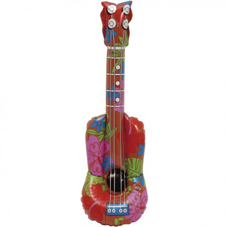 Guitarra hawaiana hinchable - Imagen 1