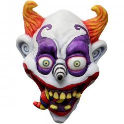 Máscara de payaso psicodélico para adulto - Imagen 1