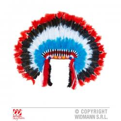 Penacho de jefe indio de lujo para adulto - Imagen 1