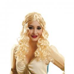 Peluca de princesa de dragones para mujer - Imagen 1