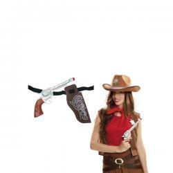 Revolver de funda de vaquero - Imagen 1