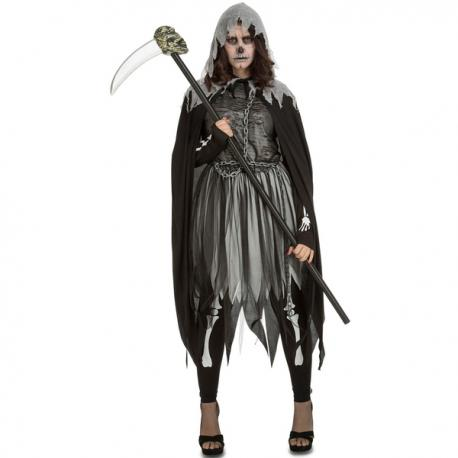 Disfraz de ejecutora fantasmal para mujer - Imagen 1