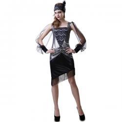 Disfraz de chica años 20 para mujer - Imagen 1