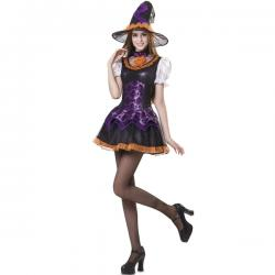 Disfraz de bruja inocente para mujer - Imagen 1