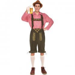 Disfraz de tirolés cervecero para hombre - Imagen 1