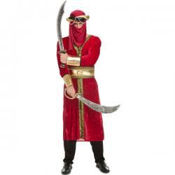 Disfraz de sacarreno para hombre - Imagen 1