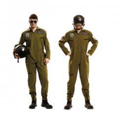 Disfraz de aviador Gun para hombre - Imagen 1