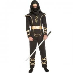 Disfraz de ninja astuto para hombre - Imagen 1