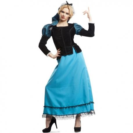 Disfraz de goyesca elegante para mujer - Imagen 1