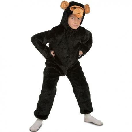 Disfraz de chimpancé peludo infantil - Imagen 1
