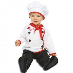 Disfraz de cocinero elegante para bebé - Imagen 1
