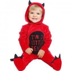 Disfraz de pequeño demonio para bebé - Imagen 1