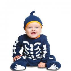 Disfraz de esqueletito para bebé - Imagen 1
